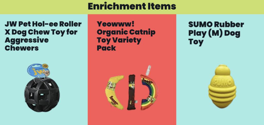 Enrichment Items - FoMA Pets