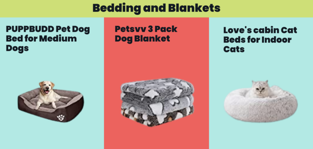 Bedding and Blankets - FoMA Pets