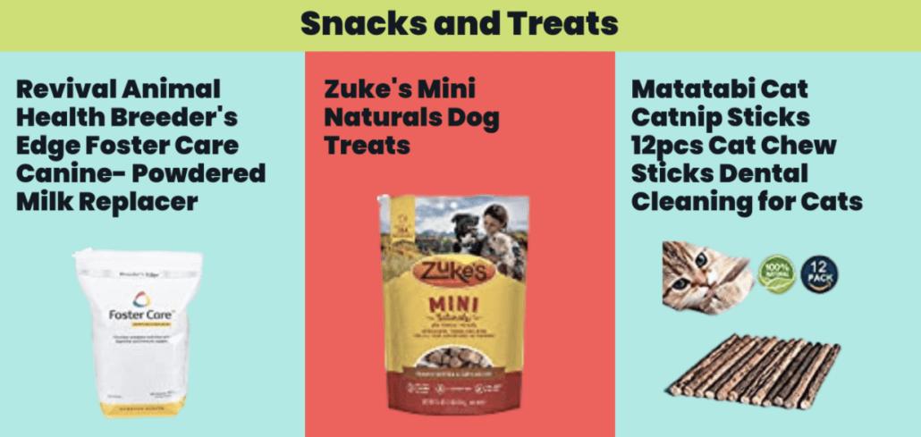 Snacks and Treats - FoMA Pets
