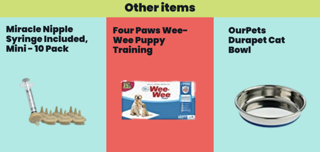 Other Items for Your Pet - FoMA Pets